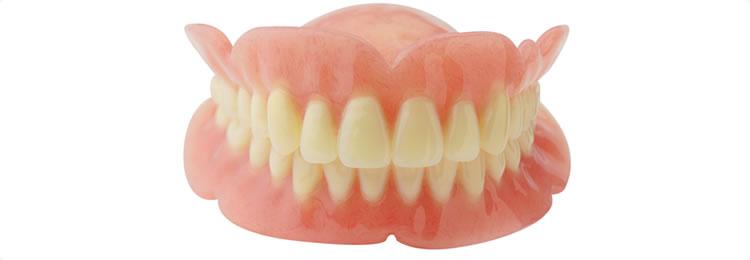 ①保険の入れ歯